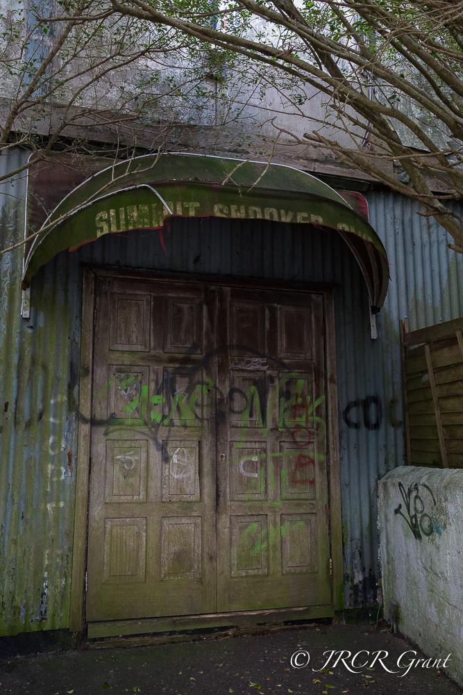 Daubed Door