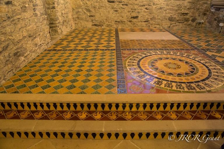 Tiled Chapel floor