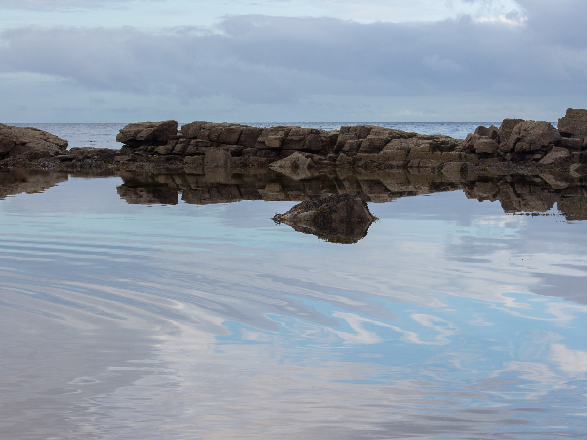 Scottish Sea reflections