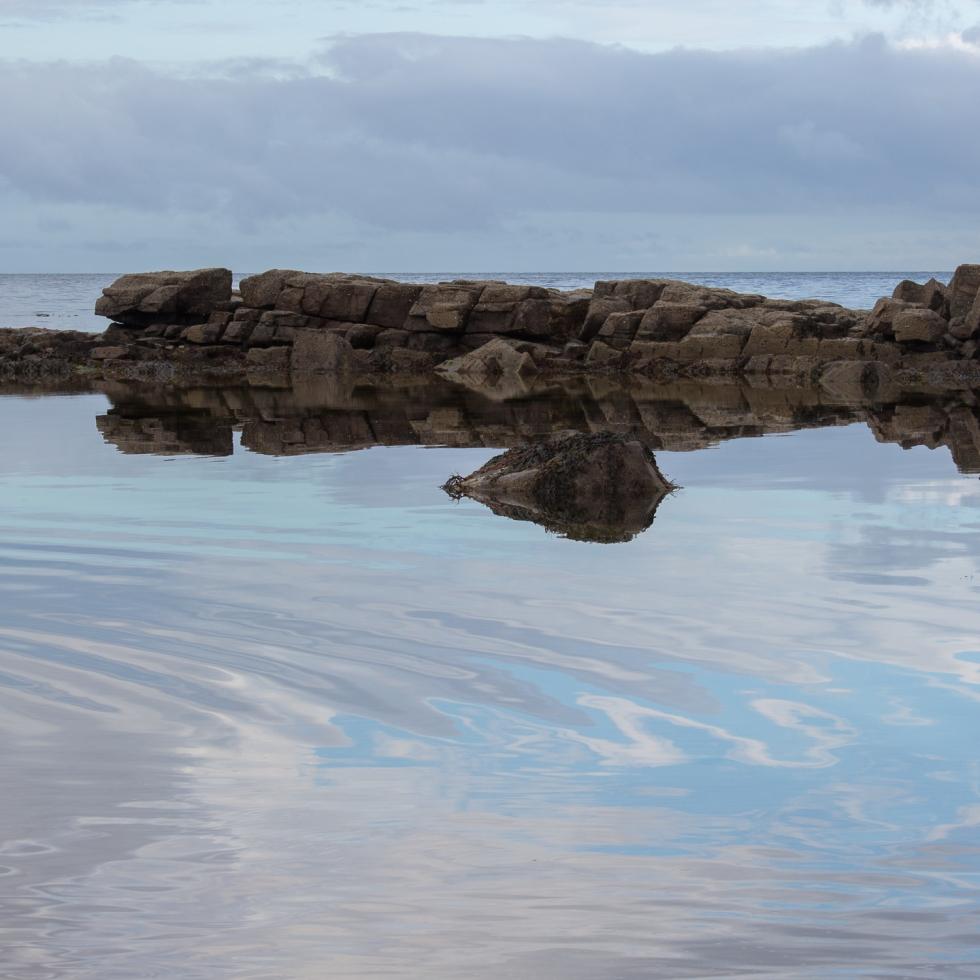 Scottish Sea reflections