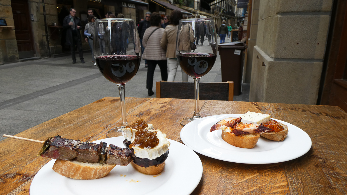 Wine and Pintxos
